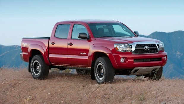 toyota recalls 342 000 tacoma pickups to fix seat belt. Black Bedroom Furniture Sets. Home Design Ideas