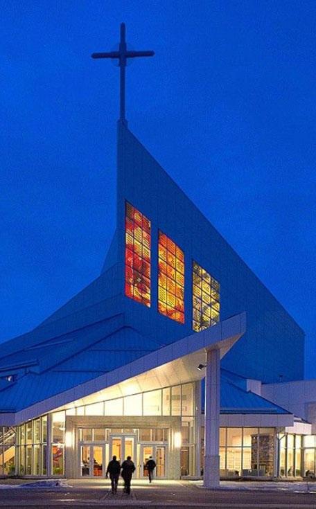 Saskatoon Church Gives Solar Energy Panels Stained Glass Disguise Ctv News