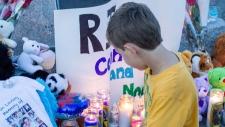 Vigil for N.B. boys killed by python