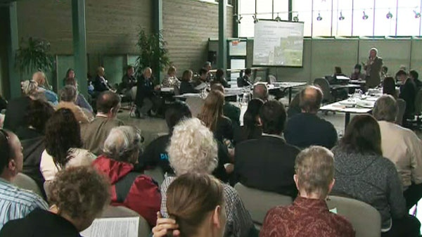 Toronto Zoo's Board of Management met to discuss the future of elephants at the zoo on Thursday, May 12, 2011.