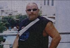 Douglas Vanalstine is seen in Vietnam in this undated file image.