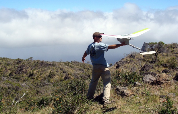 Drone used by U.S. Geological Survey