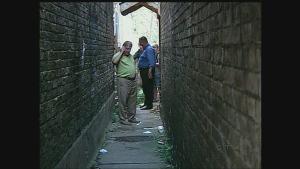 East London alleyway