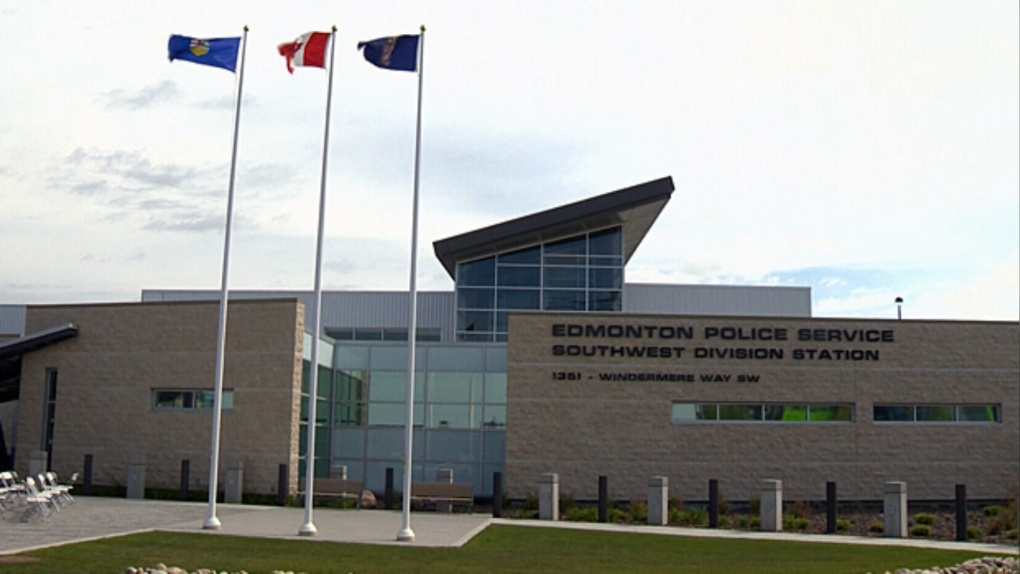 Edmonton police southwest building, aug 2013