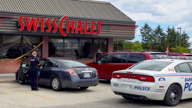 Swiss Chalet Crash