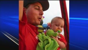 CTV Montreal: Hot-air balloon pilot falls to death