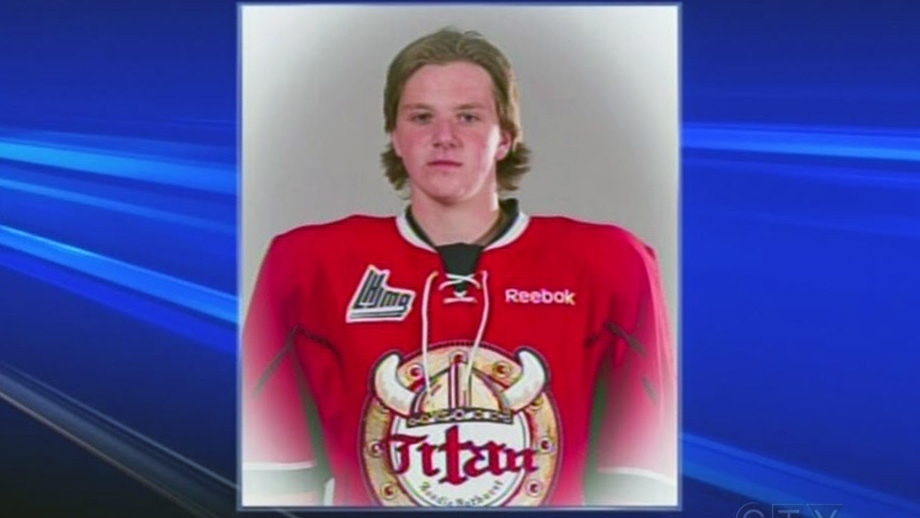 16-year-old Jordan Boyd from Bedford, N.S. collapsed and died during a hockey training camp with the Acadie-Bathurst Titan Aug. 12, 2013.