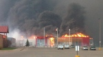 slave lake, fire, evacuation