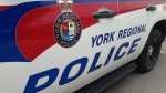 A York Regional Police cruiser is shown in this undated photo.  (CTV News/Mike Walker)