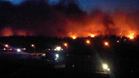 slave lake, fire, evacuation