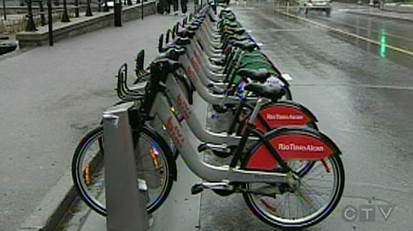 Montreal's Bixi program needs a $107 million bailout. (May 16, 2011)