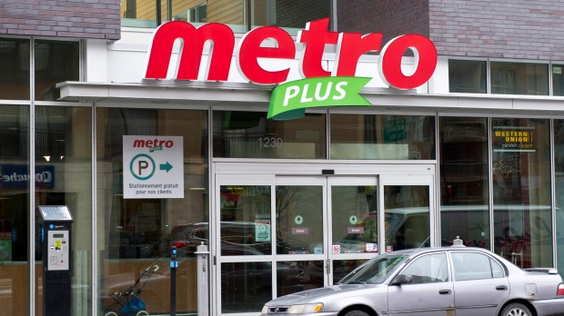 Metro grocery store in Montreal