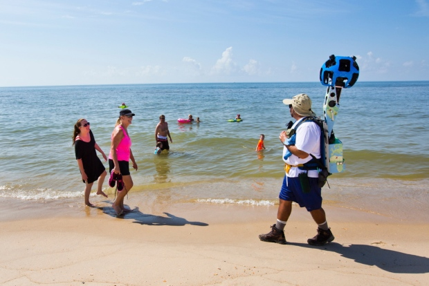 Florida Panhandle Beaches Map.Camera Teams Walk Entire Coast In Tourist Minded Florida Getting
