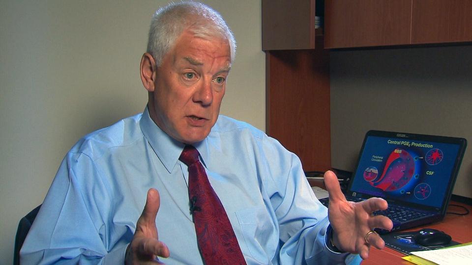Hamilton, Ont. researcher Ian Rodger speaks to CTV News, Wednesday, Aug. 14, 2013.