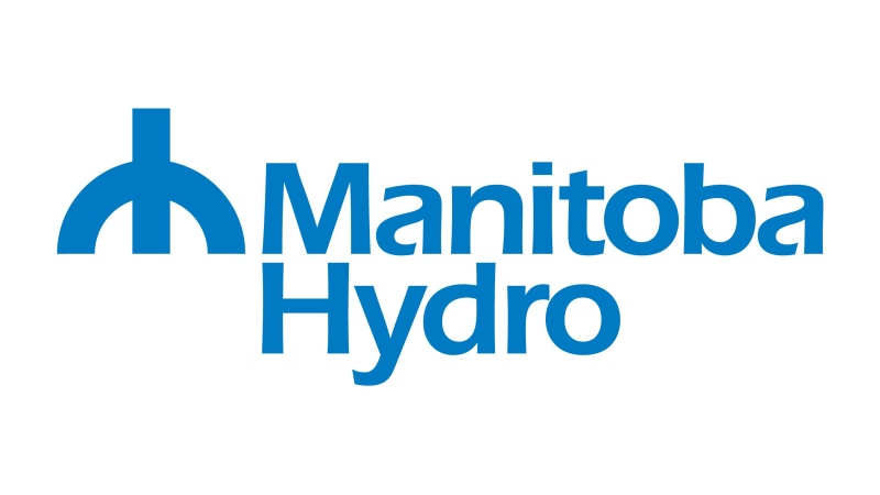 The logo for Manitoba Hydro is shown. (HO, Sandvine / THE CANADIAN PRESS)