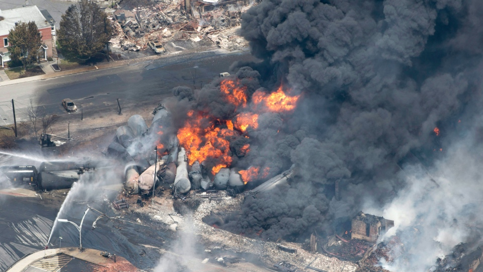 Transportation Safety Board says crude oil aboard train that derailed in Lac-Megantic was mislabelled.