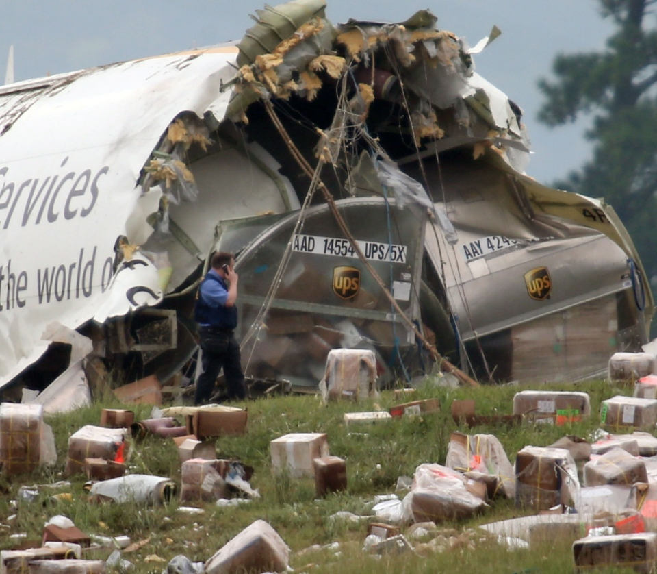 Large UPS Cargo Jet Crashes On Approach To Ala. Airport; 2