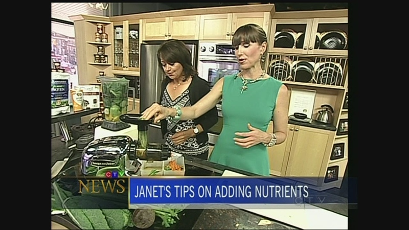 CTV's Leanne Cusack and Looneyspoons' Janet Podleski on how to add nutrients to your diet.