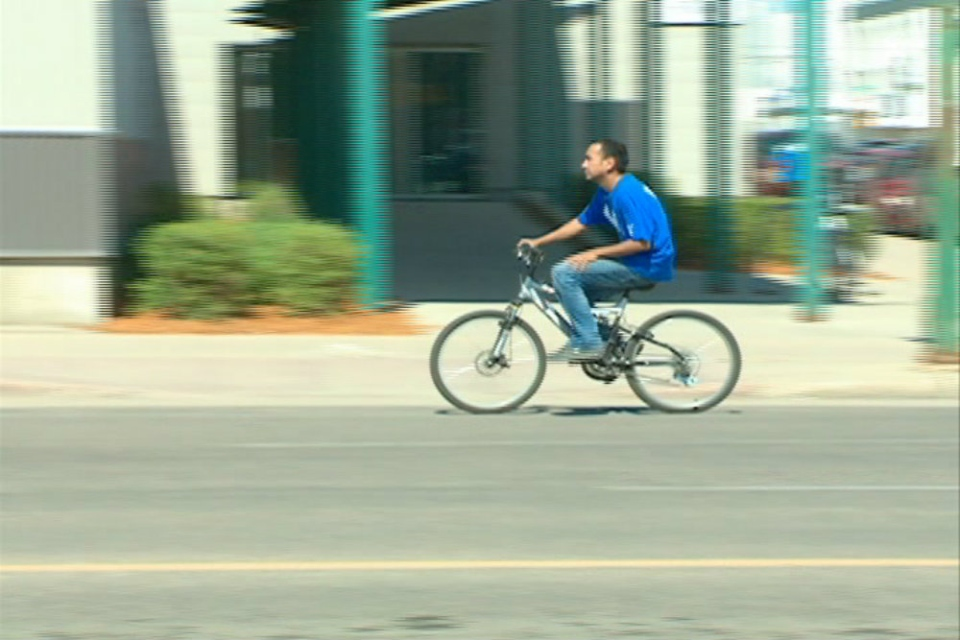 Saskatoon Police are cracking down on bike safety laws, but wearing a helmet isn't one of them.