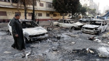 Violence in Egypt 'day of rage'