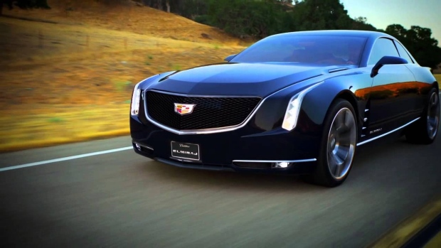 Cadillac Shows Off Big 2 Door Coupe Concept Car That Hints