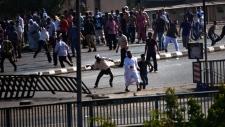Dead shoot protestors Cairo Egypt
