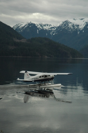 An Air Nootka float plane is shown on April 6, 2007. (Flickr / Holly Lawrence)