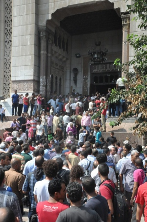 Crisis in Egypt: Protesters, police clash