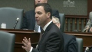 Progressive Conservative Leader Tim Hudak speaks during question period at Queen's Park on Wednesday, May 18, 2011.