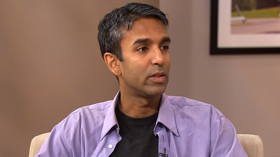 Justin Podur appears on Canada AM from CTV studios in Toronto, Monday, Aug. 19, 2013.