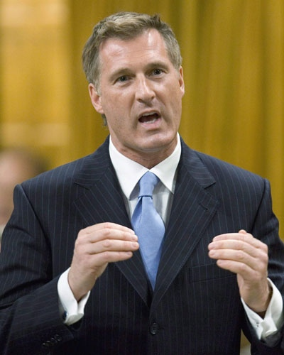 Foreign Affairs minister Maxime Bernier responds to a question in the House of Commons on Parliament Hill in Ottawa on Wednesday, May 14, 2008. (Tom Hanson  / THE CANADIAN PRESS)