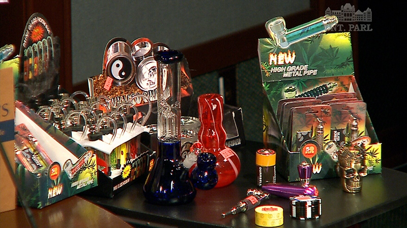 The Ontario Safety League has created an online petition to stop the sale of drug paraphernalia in stores.