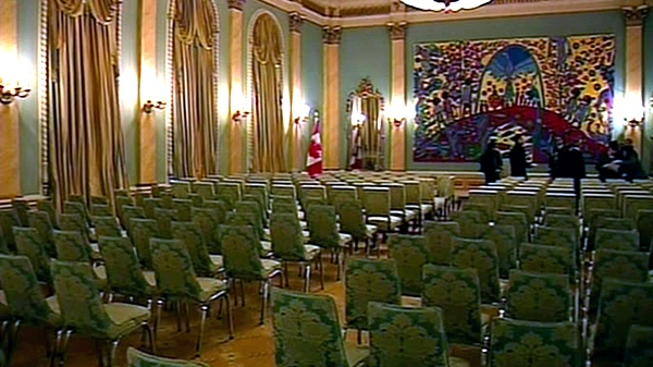 Rideau Hall in Ottawa is seen in this undated file photo.