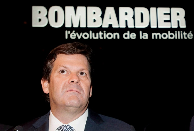 Bombardier executive chairman steps down after pay controversy