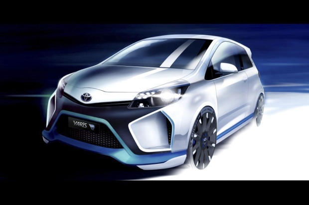 Toyota Hybrid-R concept car