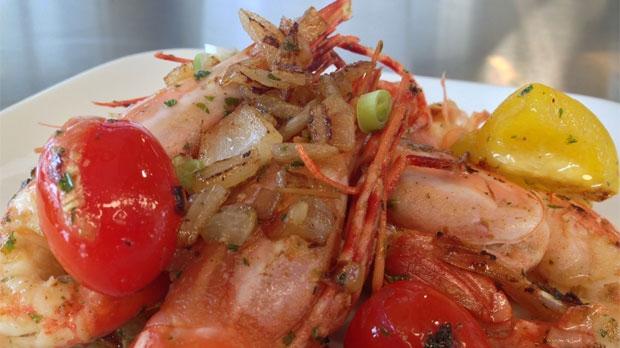 Now You're Cooking: Sautéed spot prawns