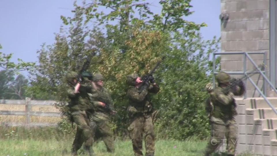 Reservists Getting Battle Ready In Meaford Ctv News Barrie