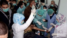 Syria chemical weapons children dead