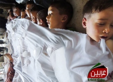 Children dead chemical attack