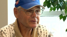 Patient Len Fitch was diagnosed with Crohn's