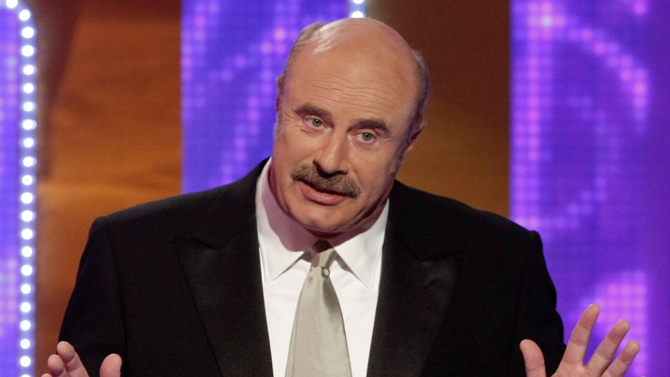 Dr. Phil McGraw is seen on stage at the TV Land Awards on Sunday April 19, 2009 in Universal City, Calif. (AP / Dan Steinberg)