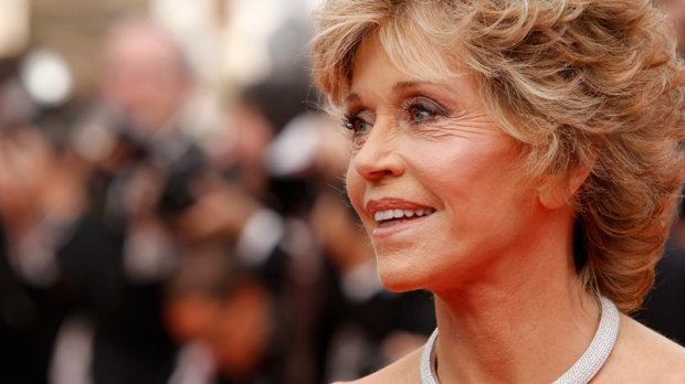 Jane Fonda arrives for the screening of 'Pirates of the Caribbean: On Stranger Tides,' at the 64th international film festival, in Cannes, southern France, Saturday, May 14, 2011. (AP / Joel Ryan)