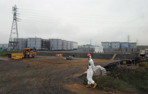 Fukushima Dai-ichi nuclear plant, Japan, June 2013