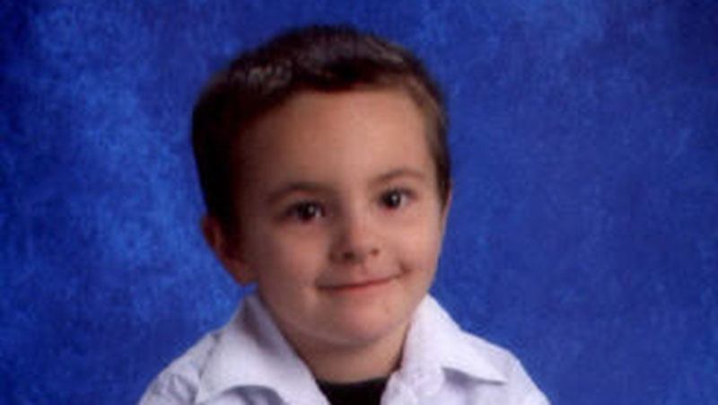 The death of six-year-old Lee Allan Bonneau has been ruled a homicide. (RCMP handout)