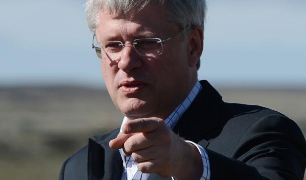 Stephen Harper in Nunavik