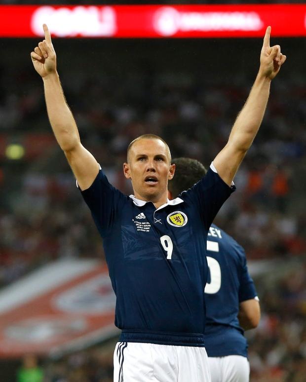 Scotland's Kenny Miller
