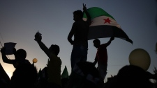 Protests to condemn poison gas attack in Syria