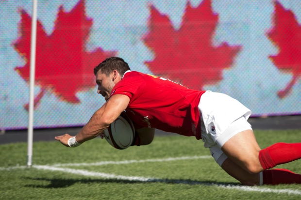 Canada's James Pritchard,  Rugby World Cup Qualify