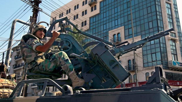 Security forces arrest suspect in Tripoli bombings