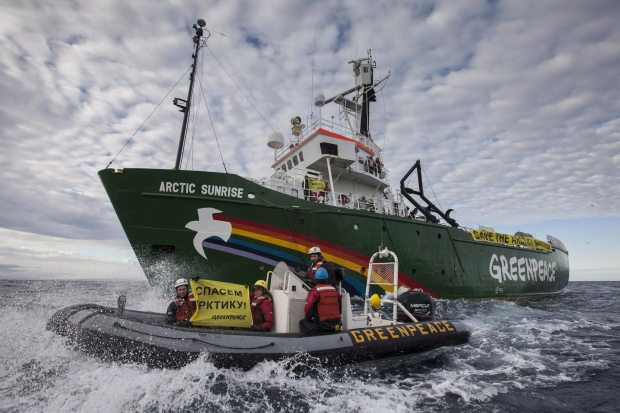 Greenpeace says it's leaving Russian waters